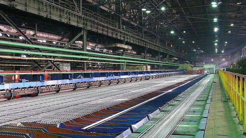 ЧМК запустил новую линию по производству арматуры за 100 млн рублей