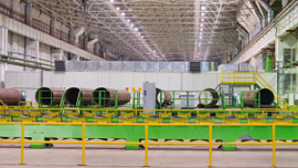 ЧТПЗ запустил оборудование со степенью очистки выбросов 99,9%