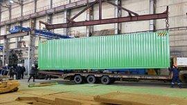 ЧТЗ начал производить морские контейнеры
