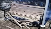 Ремонт набережной вВерхнем Уфалее невыдержал уральской зимы