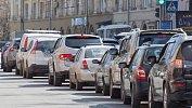 В Челябинске образовались вечерние пробки в8баллов